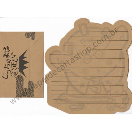 Conjunto de Papel de Carta Antigo (Vintage) 100 - Japan