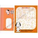 Conjunto de Papel de Carta SNOOPY CLL Plastico Antigo (Vintage) Peanuts