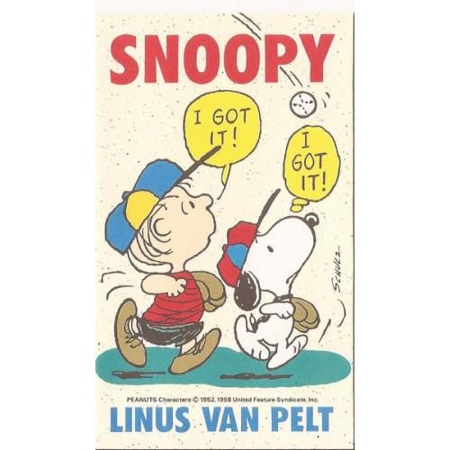 Mini-Envelope Antigo (Vintage) Snoopy 02 - Peanuts Hallmark