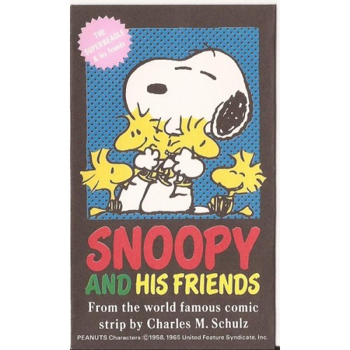 Mini-Envelope Antigo (Vintage) Snoopy 07 - Peanuts Hallmark
