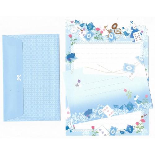 Conjunto de Papel de Carta Importado Palette Alice - San-X