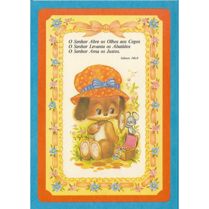 Papel de Carta Antigo Coleção BORDA AZUL 016