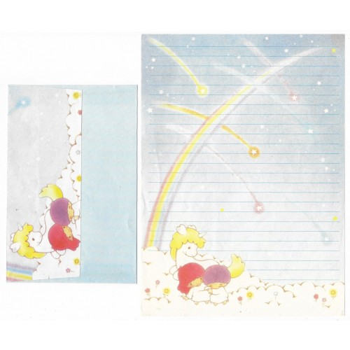 Conjunto de Papel de Carta Antigo Little Twin Stars (AZ)