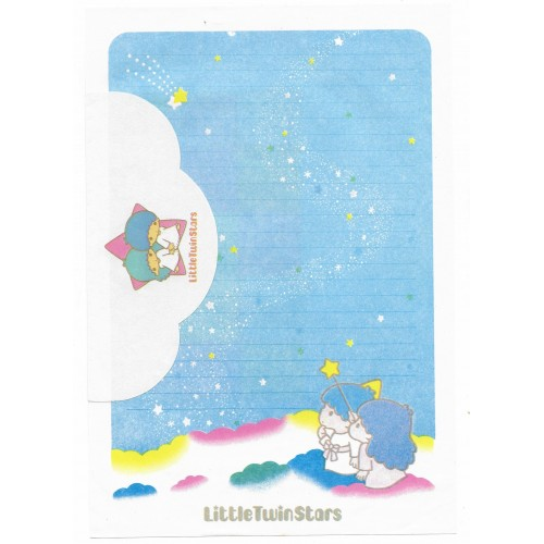 Conjunto de Papel de Carta Antigo G Little Twin Stars