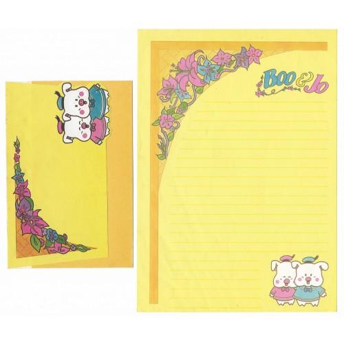 Conjunto de Papel de Carta Antigo Boo & Jo (CAM)