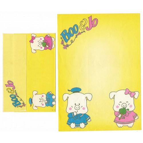 Conjunto de Papel de Carta Antigo Boo & Jo (CAM2)