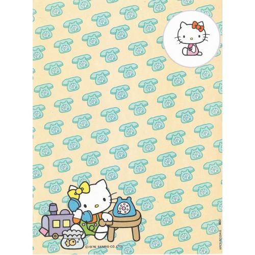 Papel de Carta Antigo Hello Kitty (CBG) - Best Cards