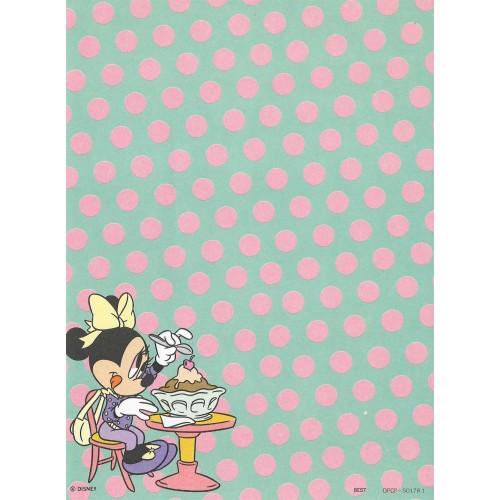 Papel de Carta Antigo Disney Minnie CVD - Best Cards
