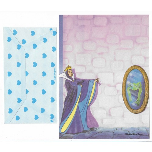 Conjunto de Papel de Carta Antigo Disney Branca de Neve I - Soft Paper