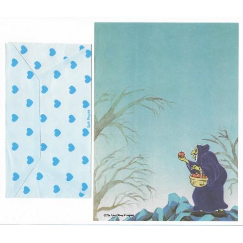 Conjunto de Papel de Carta Antigo Disney Branca de Neve II - Soft Paper