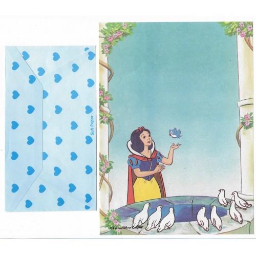 Conjunto de Papel de Carta Antigo Disney Branca de Neve III - Soft Paper