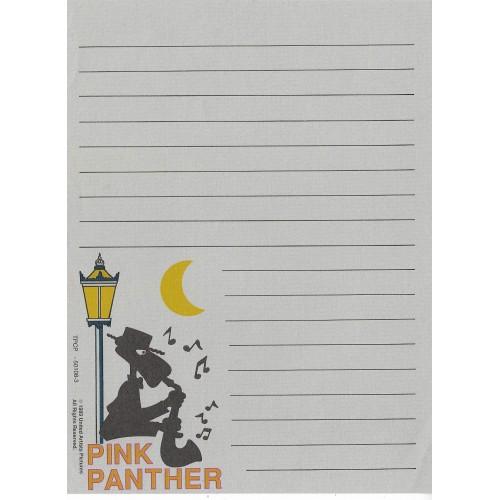 Ano 1989. Papel de Carta Antigo Pink Panther - CGR