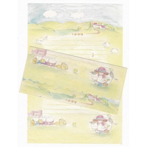 Conjunto de Papel de Carta Antigo Tiny Candy (CAM)