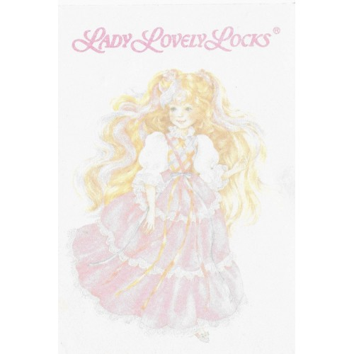 Mini Papel de Carta AVULSO Antigo Lady Lovely Locks