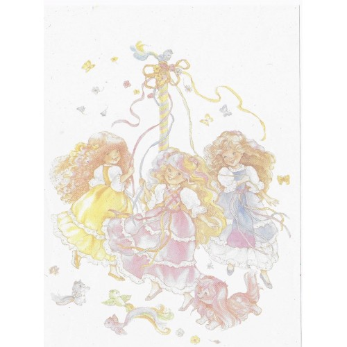 Papel de Carta AVULSO Antigo M Lady Lovely Locks