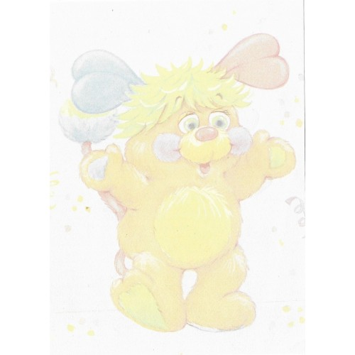Papel de Carta AVULSO Antigo M Popples