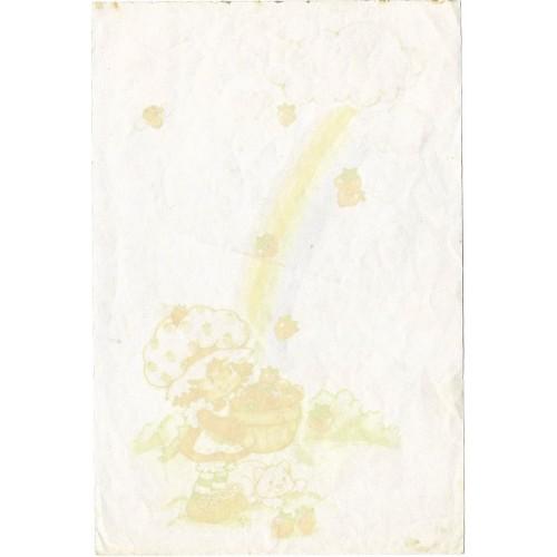 Mini Papel de Carta AVULSO Antigo Moranguinho (Arco-Iris)