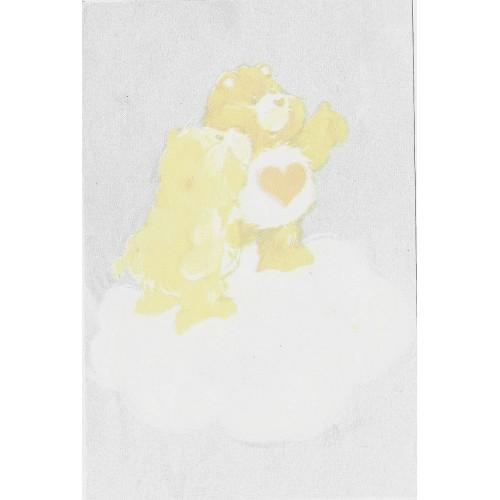 Mini Papel de Carta AVULSO Antigo Ursinhos Carinhosos (CAZ)