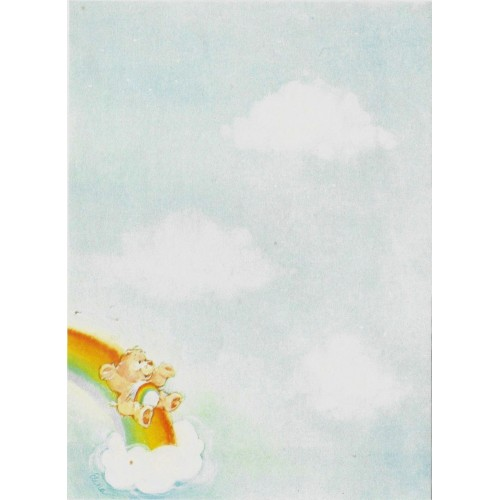 Papel de Carta AVULSO Antigo M Ursinhos Carinhosos (CAZ)