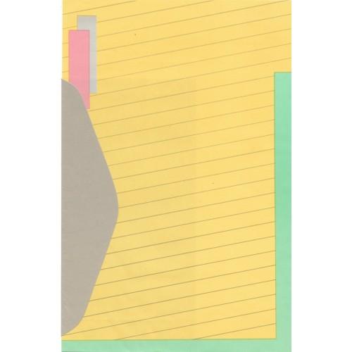 Conjunto de Papel de Carta Antigo Artefinal GAB1