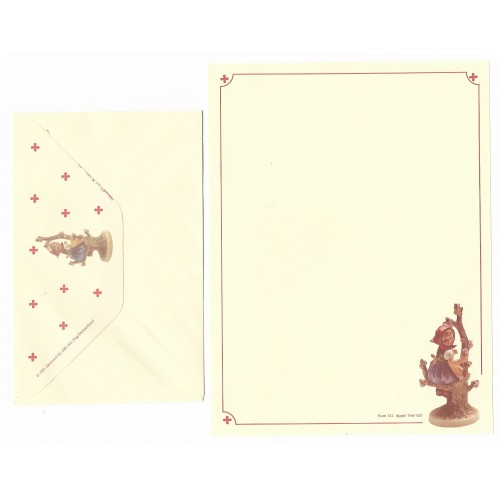 Conjunto de Papel de Carta Hum 141 - Apple Tree Girl