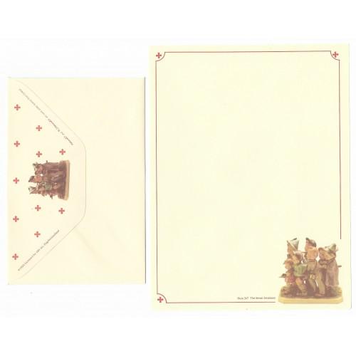 Conjunto de Papel de Carta Hum 347 - The Seven Swabians