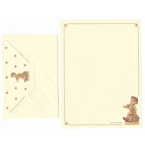 Conjunto de Papel de Carta Hum 7 - Merry Wanderer