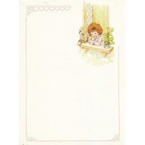Papel de Carta Antigo Coleção Artesanal - 06562