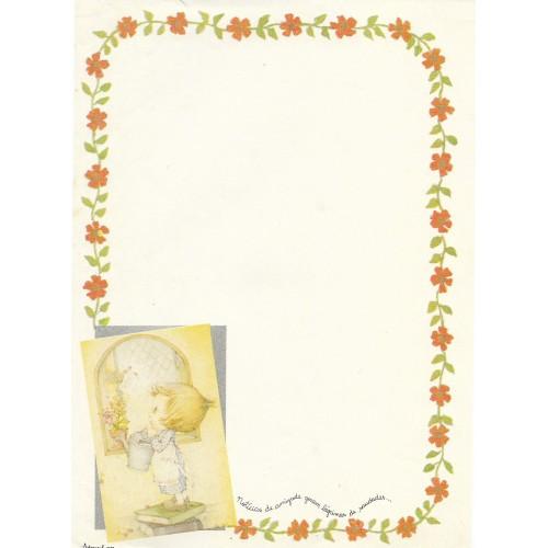 Papel de Carta Antigo Coleção Artesanal - 06566