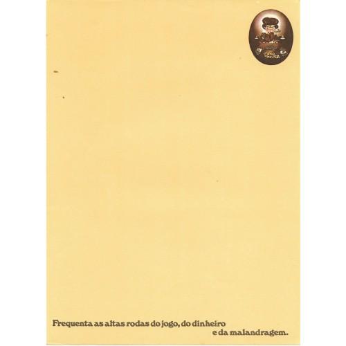 Papel de Carta AVULSO Coleção Os Intocáveis Bandidinho G1