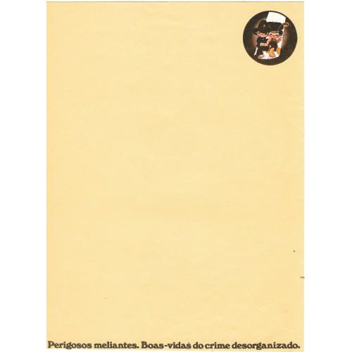 Papel de Carta AVULSO Coleção Os Intocáveis Bandidinho G2