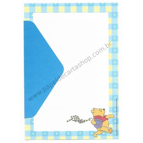 Conjunto de Papel de Carta Disney Pooh - Bee (CAZ)