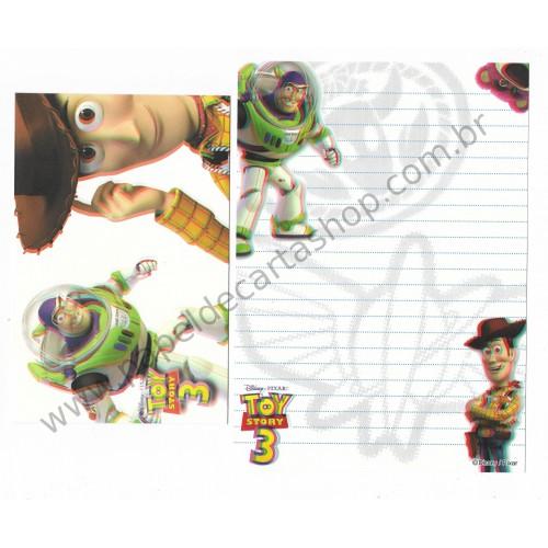 Conjunto de Papel de Carta Disney/Pixar Toy Story 3D (I)
