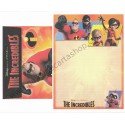 Conjunto de Papel de Carta Disney/Pixar The Incredibles