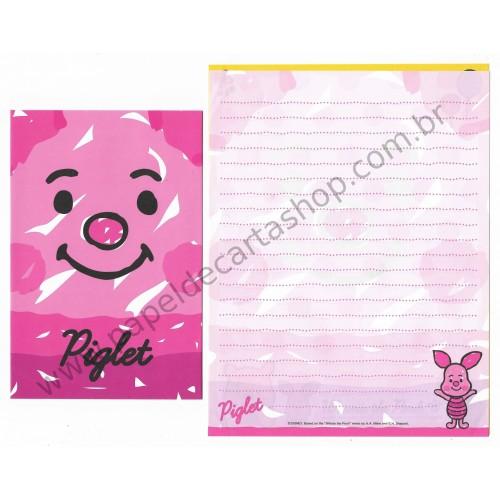 Conjunto de Papel de Carta Disney Winnie The Pooh & Piglet (CRS)