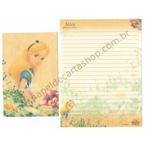 Conjunto de Papel de Carta Disney Classic Alice (CLA)