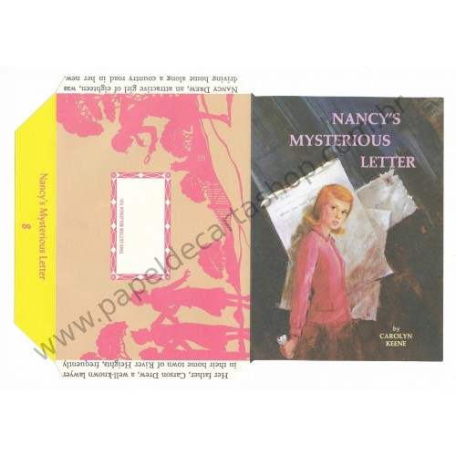 Ano 2005. Papel de Carta Nancy's Mysterious Letter n.8 by Carolyn Keene