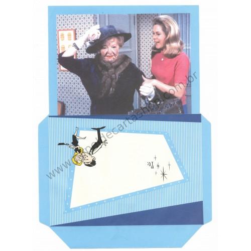 Ano 2005. Papel de Carta filme A Feiticeira IV
