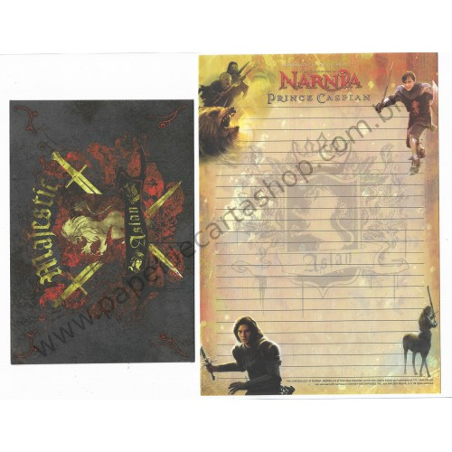 Conjunto de Papel de Carta The Chronicles of Narnia - Disney Enterprises