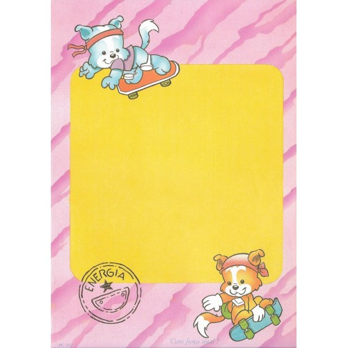 Papel de Carta ANTIGO PC 342