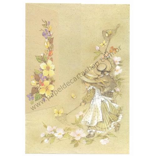 Conjunto de Papel de Carta Antigo Romeu & Julieta 04