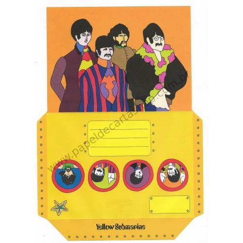 Papel de Carta Beatles Yellow Submarine V