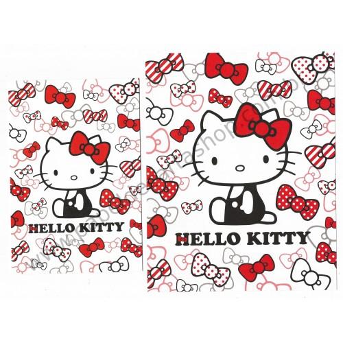 Ano 2014. Conjunto de Papel de Carta Hello Kitty Red Ribbons Sanrio
