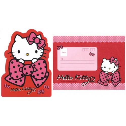 Ano 2013. Conjunto de Papel de Carta Cartão (CRS3) Hello Kitty Sanrio