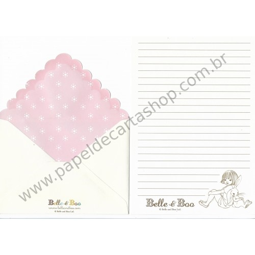 Conjunto de Papel de Carta Belle & Boo