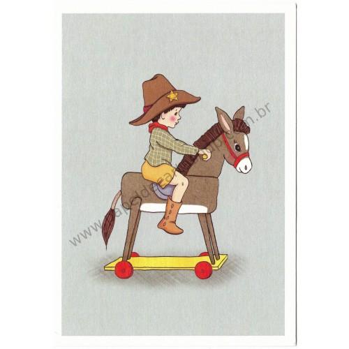 Cartão Postal Donkey - Belle & Boo