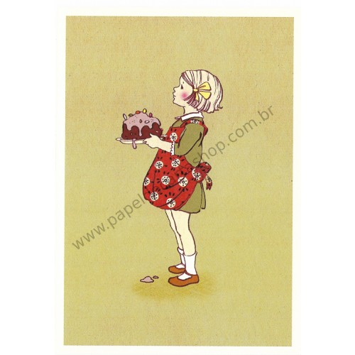 Cartão Postal Yummy - Belle & Boo