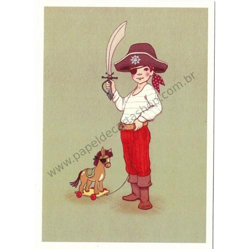 Cartão Postal Ahoy There - Belle & Boo