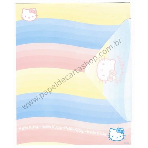 Conjunto de Papel de Carta Hello Kitty Grafons CAZ G - Sanrio
