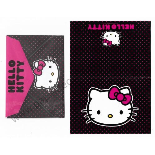 Ano 2011. Notecard Cartão Hello Kitty Pink2 - Sanrio